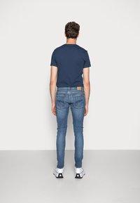 Nudie Jeans - TIGHT TERRY - Jeans Skinny Fit - steel navy - 2