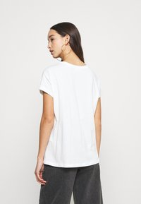 Even&Odd - T-shirts med print - white - 2