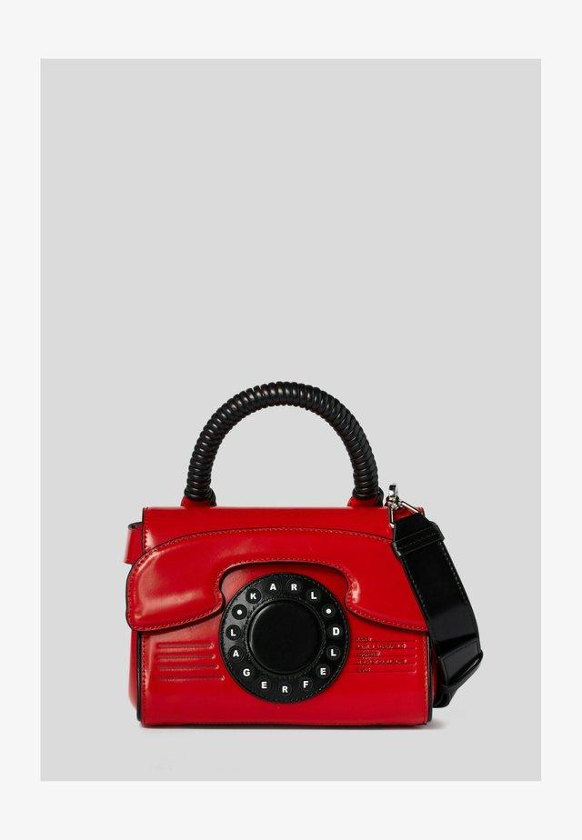 TELEPHONE  - Käsilaukku - red, white, black