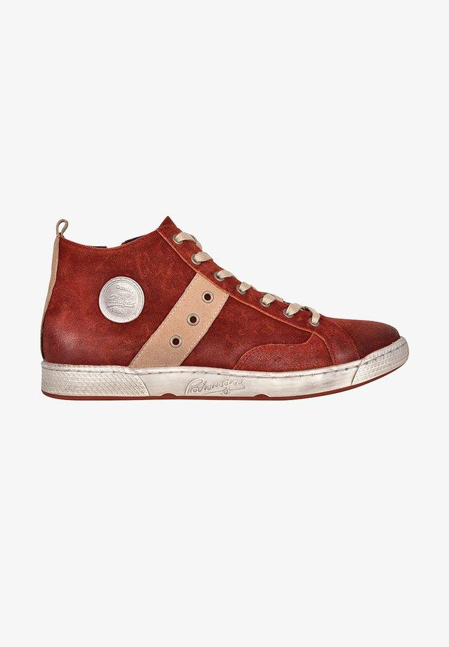 Sneakers hoog - rust