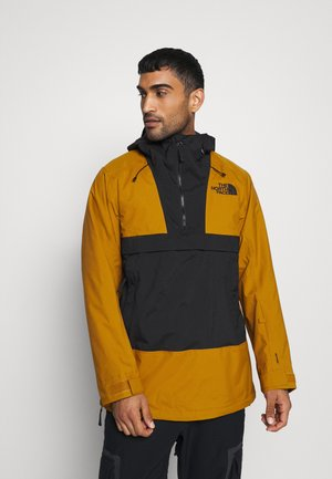 SILVANI ANORAK - Ski jacket - tan/black