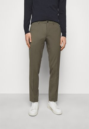 GRANT STRETCH PANTS - Trousers - army green