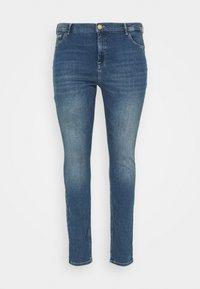 Zizzi - AMY - Jeans Skinny Fit - blue denim - 4