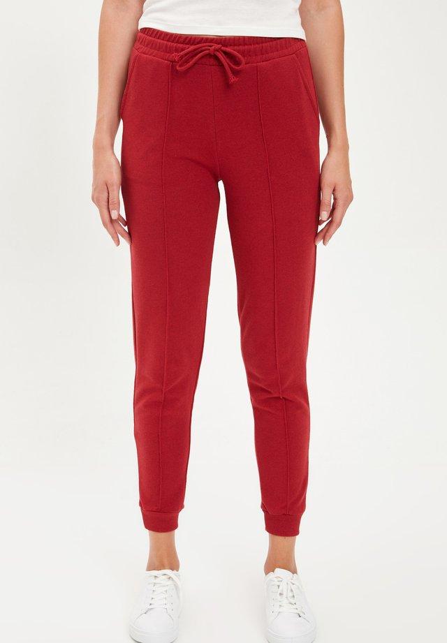 Pantalones deportivos - bordeaux