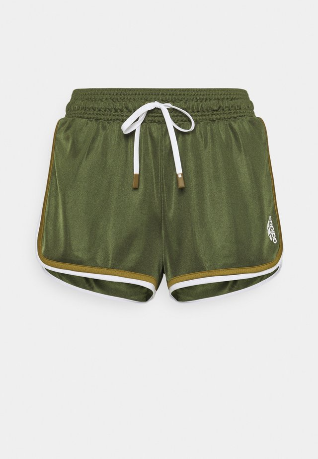 CLUB SHORT - Korte broeken - wild pine/white