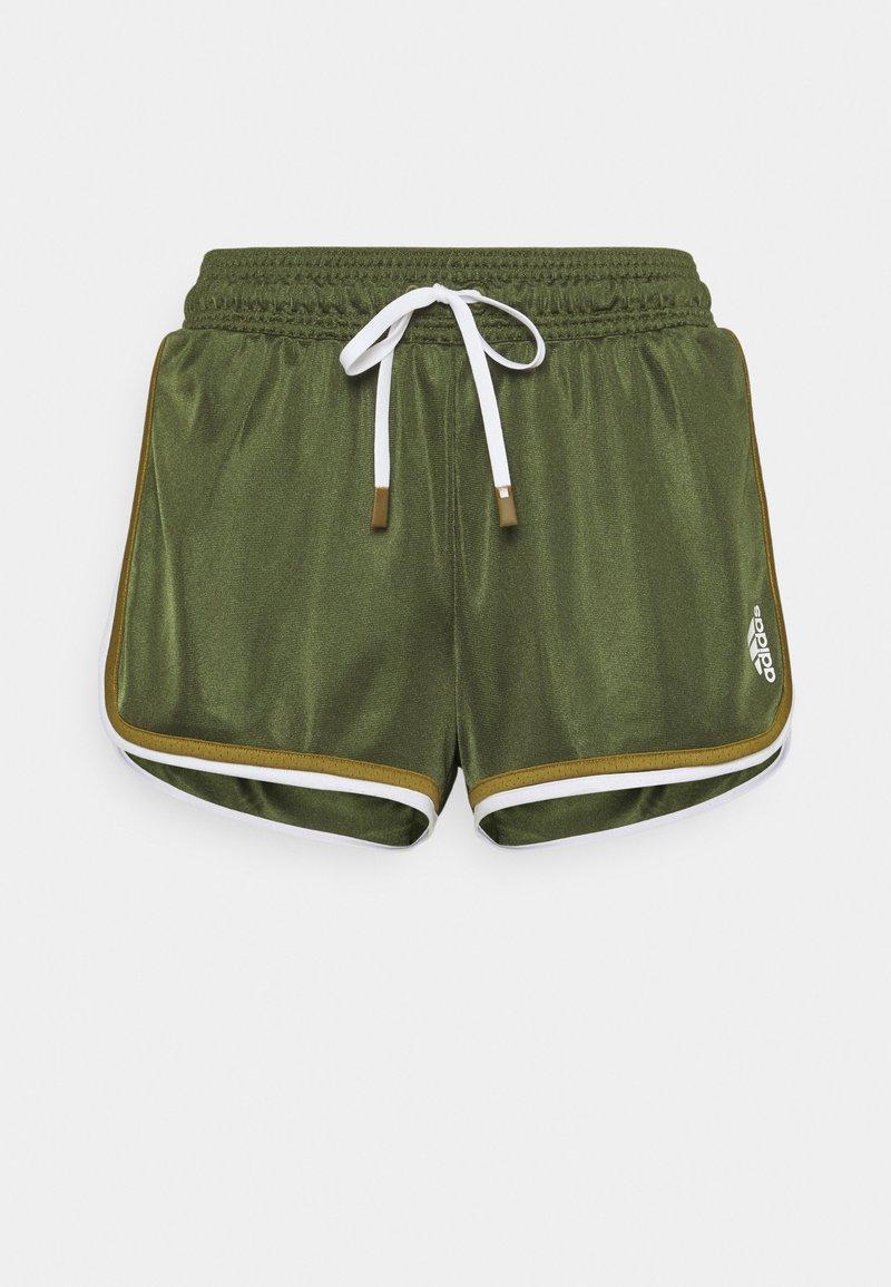 adidas Performance - CLUB SHORT - Sports shorts - wild pine/white