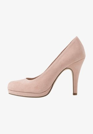 COURT SHOE - High Heel Pumps - rose