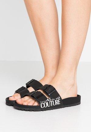 Domácí obuv - nero