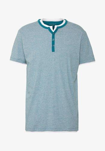 T-shirt med print - petrol blue