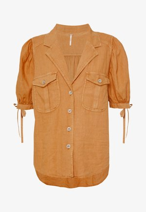 SAFARI BABE  - Button-down blouse - apricot