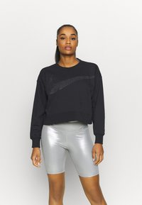 Nike Performance - GET FIT - Sweatshirt - black/dark smoke grey - 0