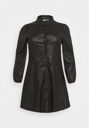 CARDIDDI DRESS - Skjortekjole - black