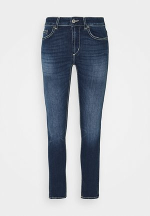 MONROE - Jeans Skinny Fit - yellow thread
