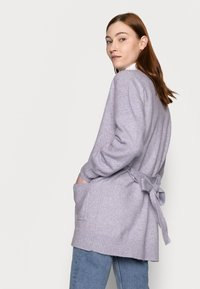 Gap Tall - BELTED OPEN SUPER PLUSH - Cardigan - frosted lilac - 2