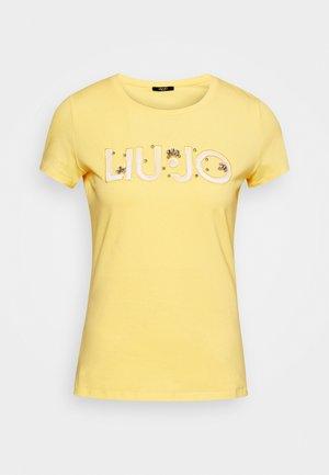 Print T-shirt - soft sun