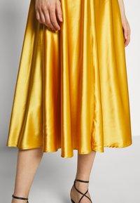 Samsøe Samsøe - RHEA DRESS - Cocktailkjole - mineral yellow - 3