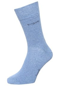 Bugatti - 6 PACK - Socks - beige/light denim melange/brown melange - 1