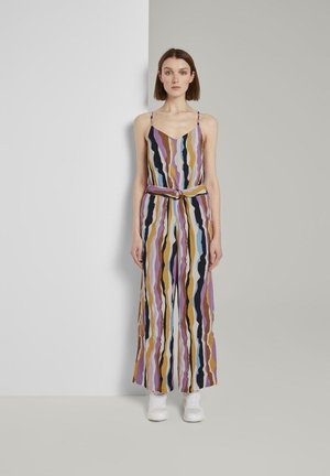 OVERALLS STREIFENMUSTER - Jumpsuit - wavy multicolor stripes