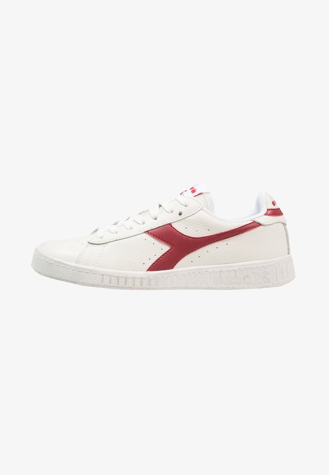 GAME WAXED - Sneakers laag - white/red pepper