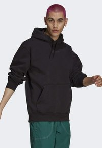 adidas Originals - DYED HOODY ORIGINALS SWEATSHIRT HOODIE - Sweat à capuche - black - 3