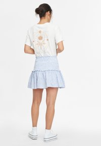 O'Neill - Pleated skirt - blue with white - 2