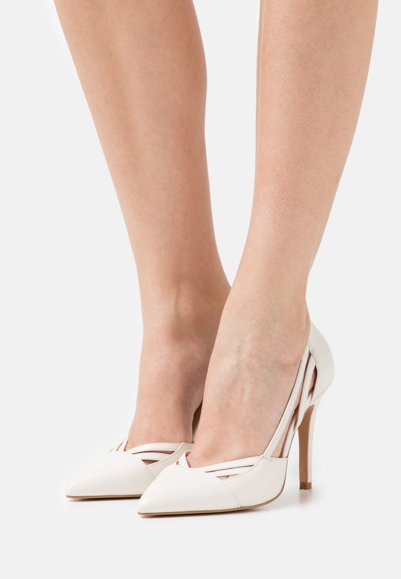 Anna Field - LEATHER - High heels - offwhite
