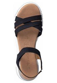 Tamaris - Platform sandals - navy - 1