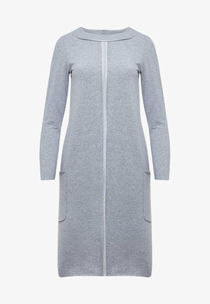 Jersey dress - grey melange