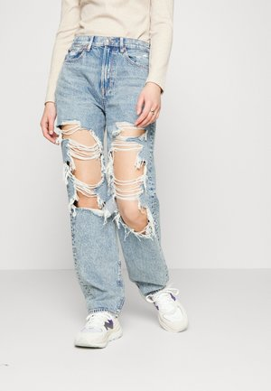 BAGGY - Relaxed fit jeans - cool torn