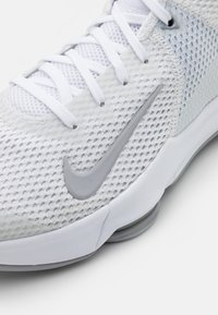Nike Performance - LEBRON WITNESS IV - Basketball shoes - white/wolf grey/pure platinum - 5