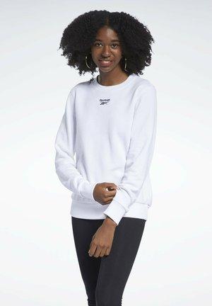 CLASSIC SMALL LOGO CASUAL - Sweatshirt - white