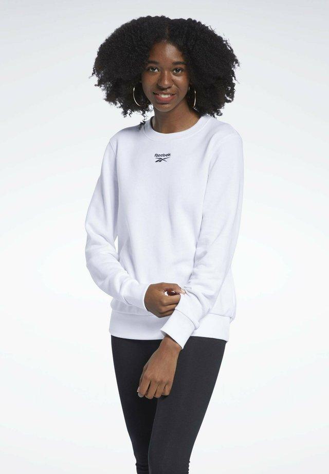 CLASSIC SMALL LOGO CASUAL - Bluza - white