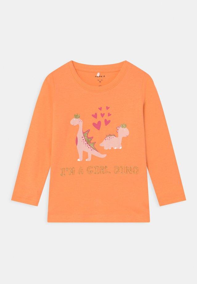 NMFDIRGA - Maglietta a manica lunga - cantaloupe