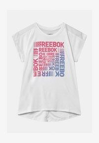 Reebok - Camiseta estampada - white - 0