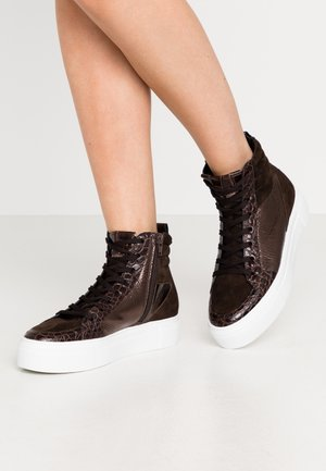 BIG - High-top trainers - bronze/braun/mocca