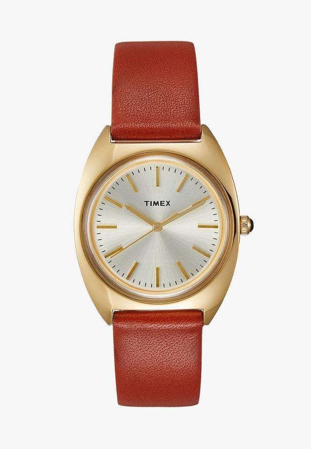 MILANO CASE DIAL STRAP - Horloge - burgundy
