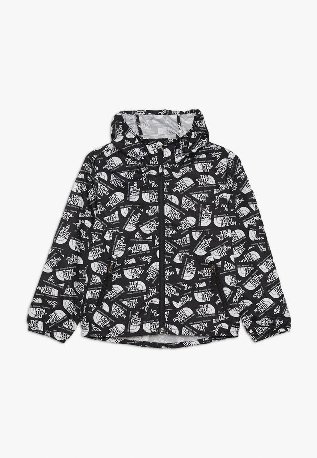 YOUTH NOVELTY FLURRY HOODIE - Veste coupe-vent - black