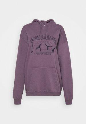 ENERGY HOODY - Sweatshirt - purple