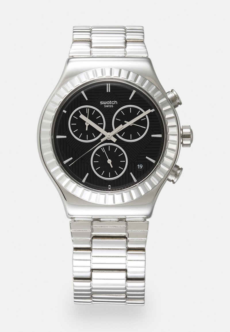 Swatch - JOES SMILE - Chronograaf - silver-coloured