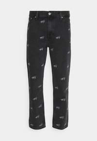 Tommy Jeans - DAD STRAIGHT - Jeans a sigaretta - black rigid - 0