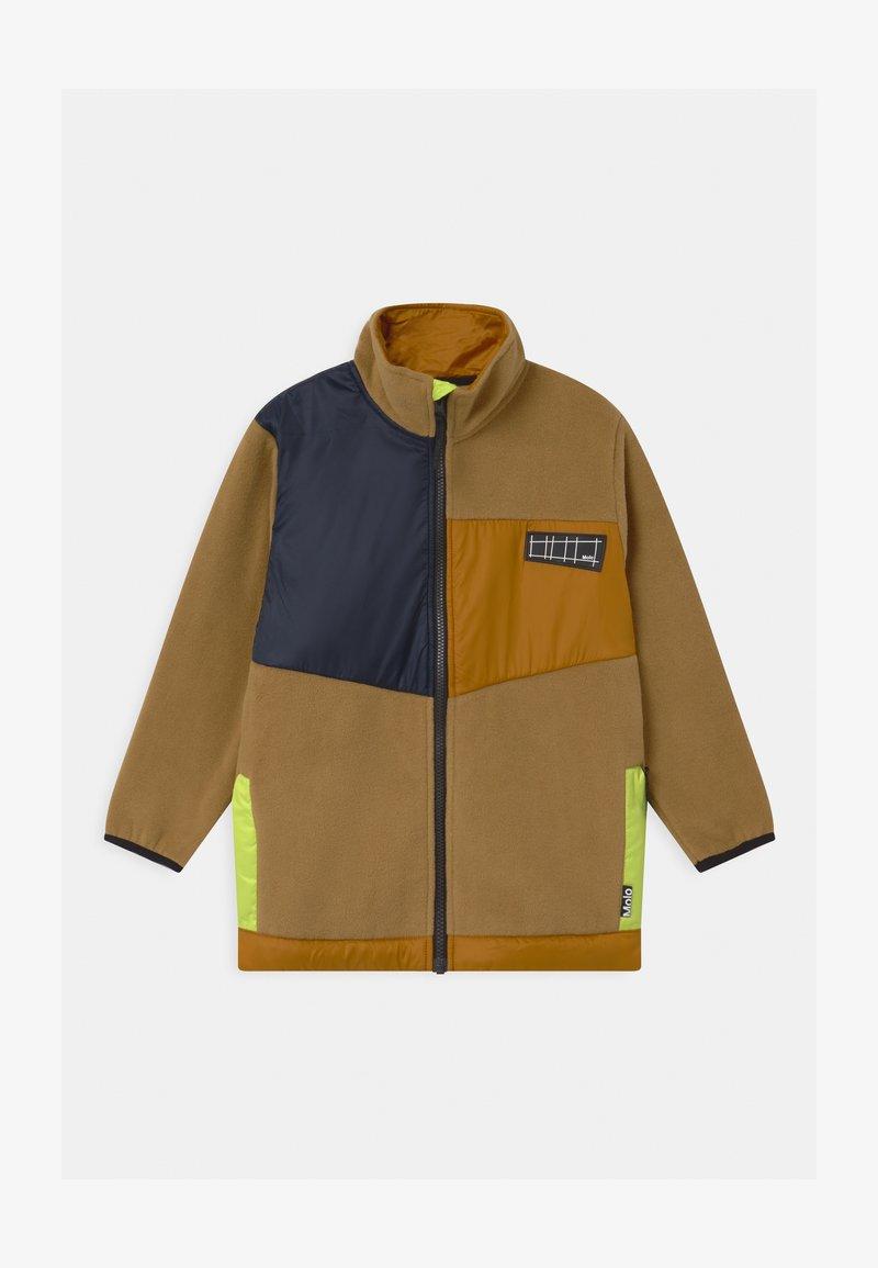 Molo - URBAIN - Fleecová bunda - beige