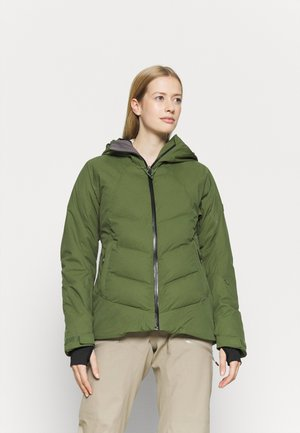 DUSK - Snowboard jacket - bronze green