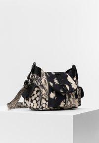 Desigual - BOLS NIGHT GARDEN KYOTO - Across body bag - black - 2