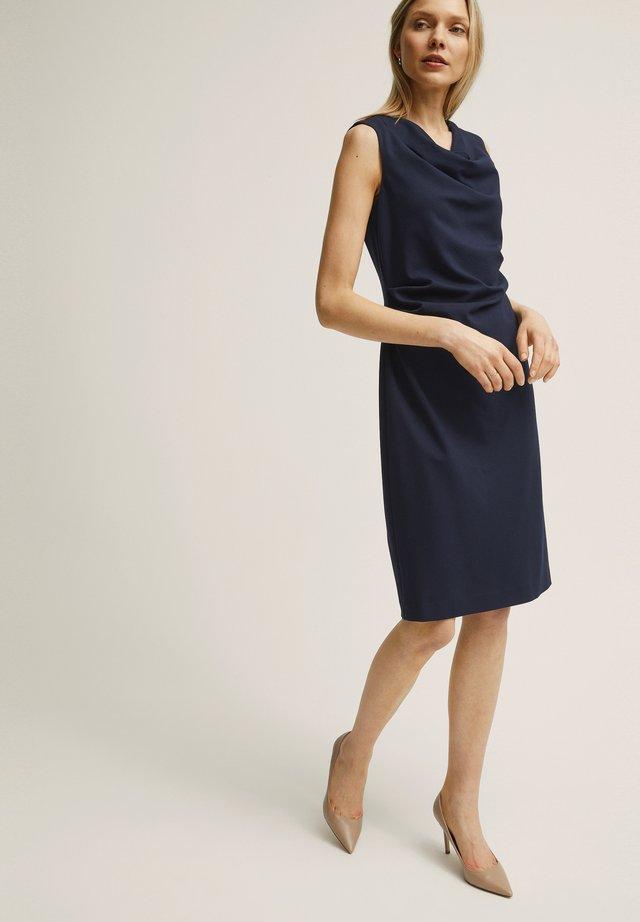 PETRA  - Shift dress - navy