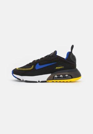 AIR MAX 2090 - Sneakersy niskie - black/hyper blue/tour yellow/white