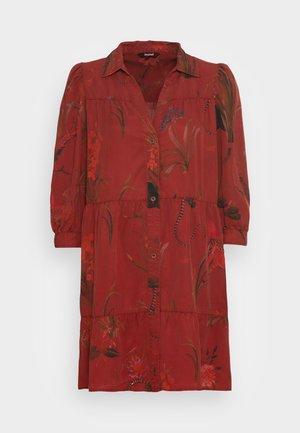 VEST SEVILLA - Shirt dress - red