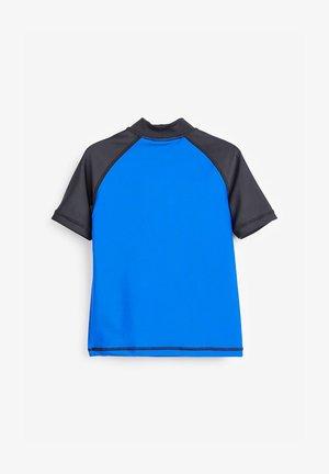 SHARK RASH VEST (3-16YRS) - Rash vest - blue