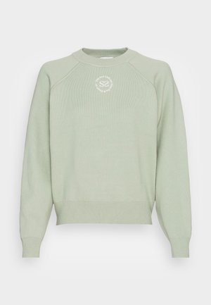 Sweatshirt - vert amande