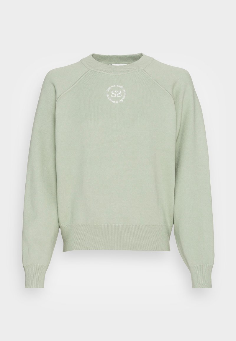 sandro - Sweatshirt - vert amande