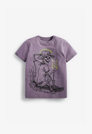 GRAPHIC - Print T-shirt - purple